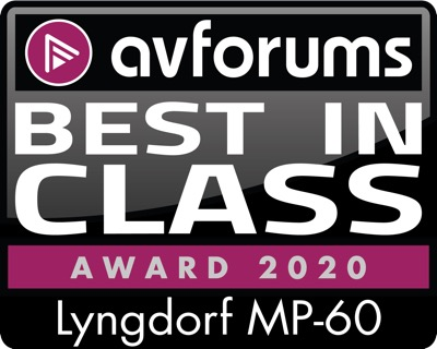 Lyngdorf MP-60 AV forums AWARD 2020