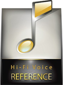 HiFi Voice reference badge