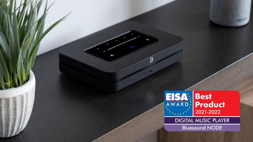 Bluesound NODE získal prestížne ocenenie EISA 2021