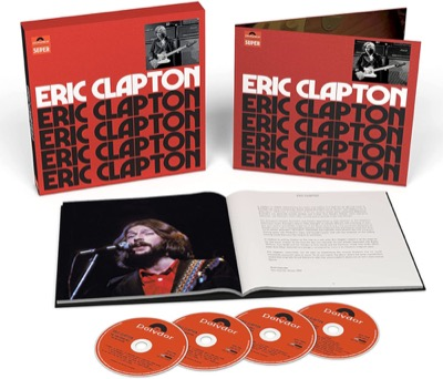 Eric Clapton Anniversary Deluxe Edition