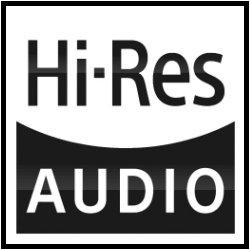Kompatibilní s Hi-Res Audio