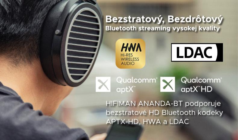 bezstratový, bezdrôtový Bluetooth streaming