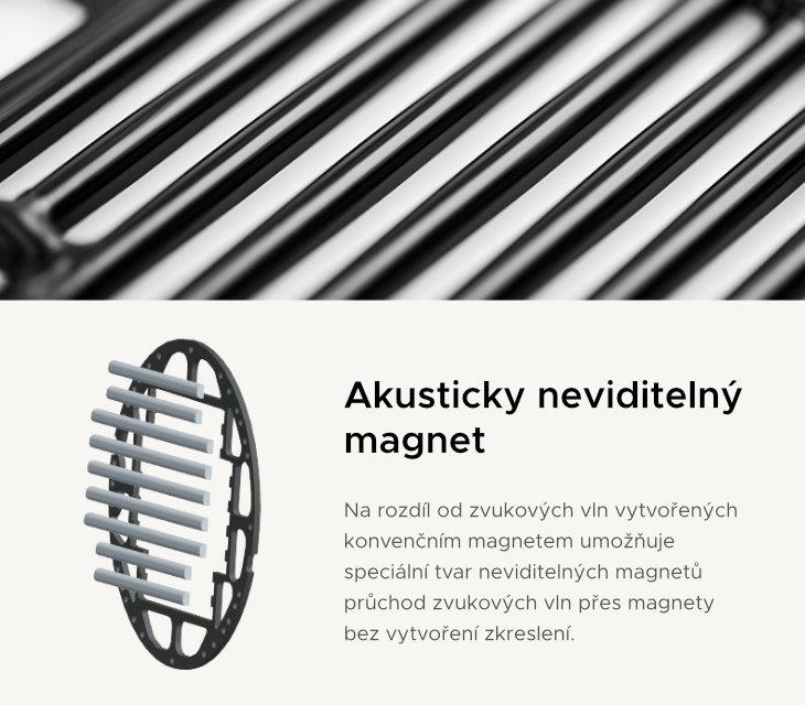 akustický neviditelný magnet