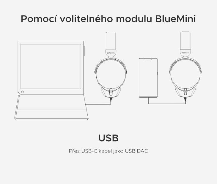 Připojení pomocí USB
