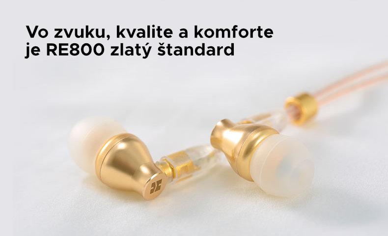 RE800 - zlatý štandard