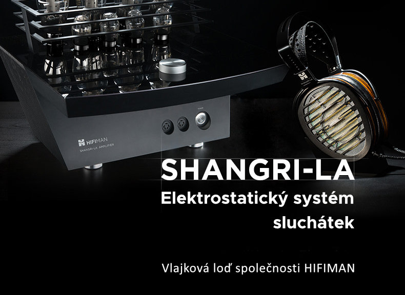 Elektrostatický systém sluchátek