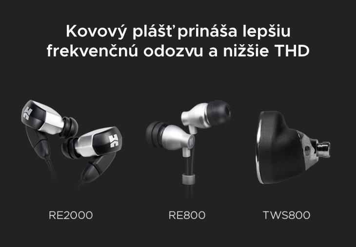 Hifiman TWS 800 kovovy plast