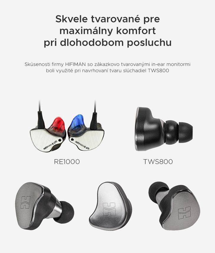 Hifiman TWS 800 komfort
