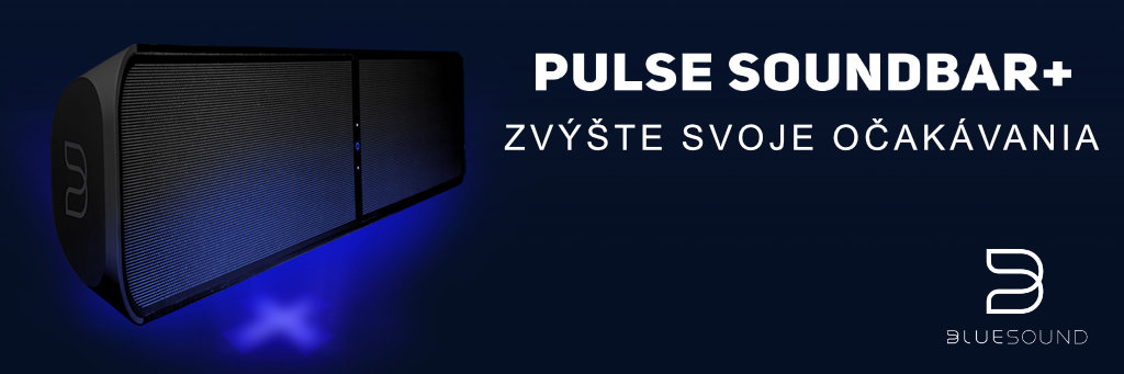 Nový Bluesound Pulse Soundbar+